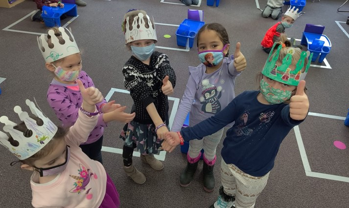 Preschool celebrated 100 days of school